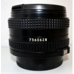 Superbe objectif CANON 50mm FD 4/22