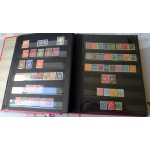 Enorme catalogue de timbres 28 pages =56 recto verso remplis de timbres