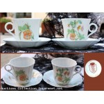 Tete a tete porcelaine Limoges Castel France ideale pour le the