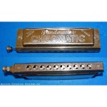 Harmonica BANDMASTER DELUXE CHROMATIC a piston - full octaves
