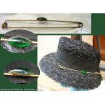 Ancienne Epingle a Chapeau Epingle 1870/1900 - Hat Pin * N160706