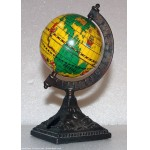 Mappemonde Globe terrestre Football - Taille crayon